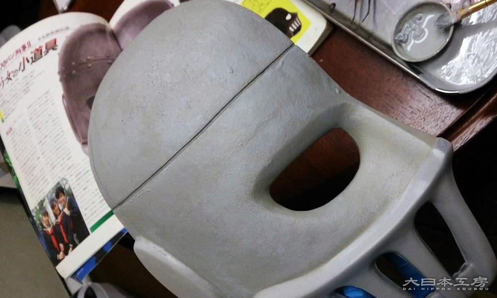 ゼネプロ鉄仮面の表面処理