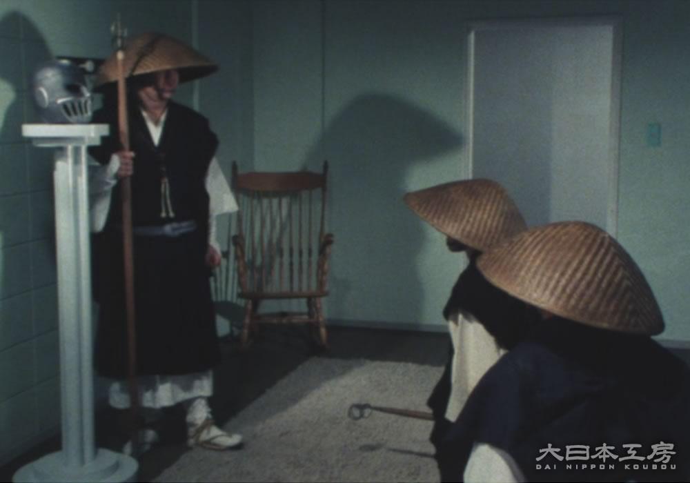 スケバン刑事/鉄仮面スタンドプロップレプリカ