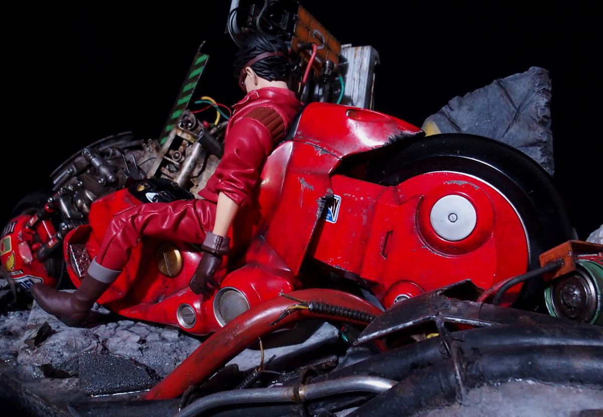 金田のバイク ジオラマ