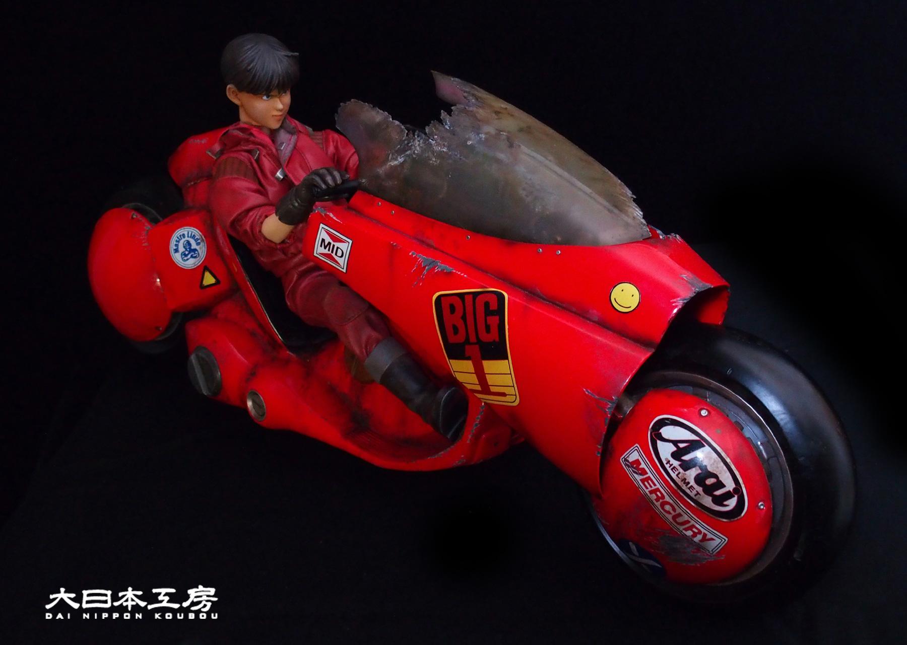 AKIRA  金田 金田のバイク アキラ BANDAI MEDICOM BM フィギュア