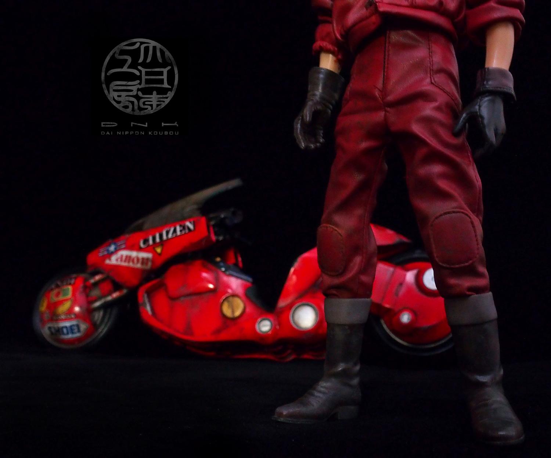 AKIRA  金田 金田のバイク アキラ BANDAI