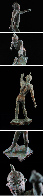 成田亨 成田彫刻 ウルトラセブン セブンの立像 宇宙人S ウルトラマン 海洋堂